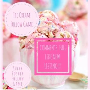 Other - 🍦🎉🎉Comments Full Like New Listing 🍦🍦🍦